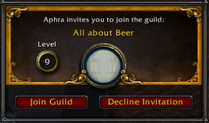 WoW Guild. Image hosted on Think Tutorial.